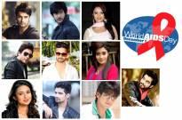 TV Celebs spread AIDS awareness