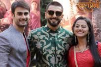 Varun Kapoor, Ranveer Singh and Helly Shah