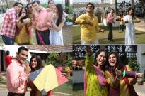 Actors from Bhaage Re Mann celebrate Sankranti on the sets