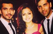 Arjun Bijlani, Drashti Dhami and Kinshuk Mahajan