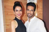Karishma Tanna and Upen Patel