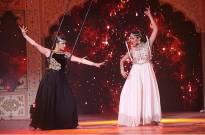 Aashka Goradia and Sudeepa Singh