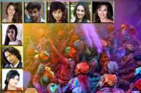 TV celebs talk about #Holi masti