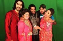 Vivian Dsena surprises wife Vahbiz Dorabjee on TV show set