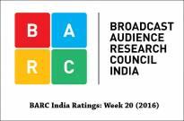 BARC India Ratings: Week 20 (2016)