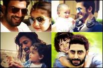 Celeb dads with their adorable kids