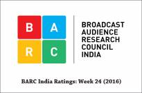 BARC India Ratings: Week 24 (2016)