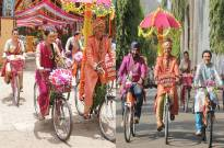 Popatlal's 'cycle' baraat in SAB TV's Taarak Mehta