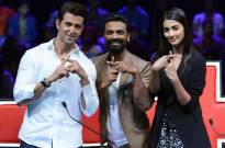 Hrithik Roshan, Remo Dsouza and Pooja Hegde