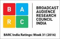 BARC India Ratings: Week 31 (2016)