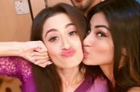 Sanjeeda Shaikh and Mouni Roy