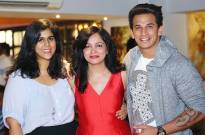 Producer Dipti Kalwani with Rytasha Rathore and Prince Narula