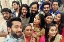 Diwali cleanliness drive on sets of 'Ishqbaaaz'