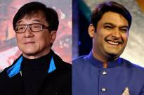 Jackie Chan and Kapil Sharma