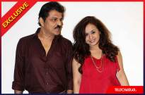 Rajesh Khattar and his wife Vandana Sajnani