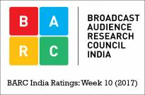 BARC India Ratings: Week 10 (2017)