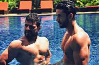 Karan Patel and Aly Goni