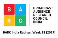 BARC India Ratings: Week 13 (2017)