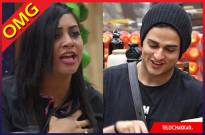 Arshi Khan threatens Priyank Sharma in the Bigg Boss house