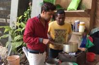 When Vatsal turned Chai-wala on Haasil sets!