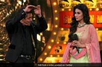 Mouni Roy and Salman Khan