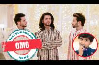 A kid to claim one of the Oberoi brothers as his father in Ishqbaaaz