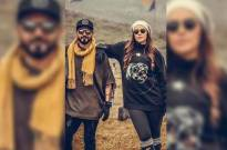 Neha Dhupia gets miffed with Nikhil Chinapa