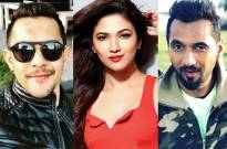 Aditya Narayan, Ridhima Pandit, and Punit Pathak