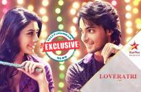 Love Yatri promotions on Star Plus' Dandiya Nights
