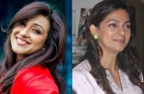Rituparna Sengupta and Juhi Chawla