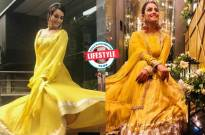FACE-OFF! Who spells BEAUTY in the lehenga choli: Surbhi Jyoti or Anita Hassanandani?