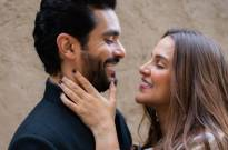 Angad Bedi and Neha Dhupia