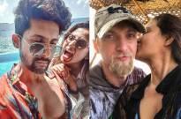 Couples Ravi–Sargun, Brent–Aashka, Rohit–Mansi