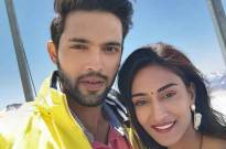 THIS  is what Parth Samthaan and Erica Fernandes do BETWEEN SHOTS