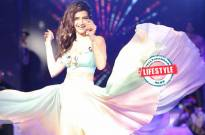 Karishma Tanna poses for a picture with her 'FIRST LOVE'!