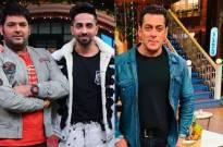 The Kapil Sharma Show: Ayushmann Khurrana compliments Kapil's shoes; the comedian gives credit to Salman Khan