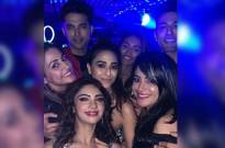 Parth Samthaan and Erica Fernandes REUNITE with Hina Khan on Pooja Banerjee's birthday party