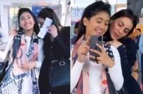Shivangi Joshi and Shraddha Arya's fun time together