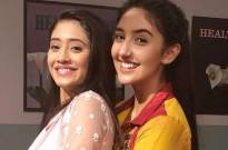 When young Naira, Ashnoor Kaur, met grown-up Naira, Shivangi Joshi, of Yeh Rishta Kya Kehlata Hai