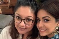Tanushree Dutta surprises sister Ishita Dutta on the sets of Bepanah Pyaarr