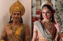 Paramavtar Shri Krishna: Hunar Hale shares a glimpse of sweet moments between Lord Krishna and Rukmini