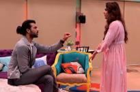 Madhurima Tuli kisses Vishal Singh in the Bigg Boss 13 house