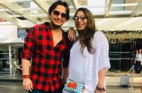 Paritosh with sister Geeta Kapoor spending holiday in Goa