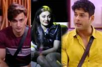 Asim riyaz Shefali Zariwala and Sidharth Shukla