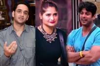 Vikas , Aarti and Sidharth Shukla