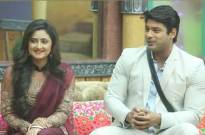Sidharth Shukla with Rashmi Desai