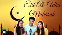 Sheena, Paras and Priyanka from Mariam Khan wish Eid Mubarak