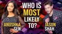 Jason Shah and Anushka Sen