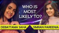 Debattama Saha and Simran Pareenja