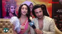 Himanshu & Shivya get a grand welcome at Colors Luv Kush at Ayodhya